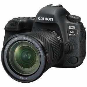 【納期約1~2週間】【お一人様1台限り】canon キヤノン EOS6DMK2-L24105STMK デジタル一眼カメラ EOS 6D Mark II EF24-105 IS STM レンズキット EOS6DMK2 L24105STMK