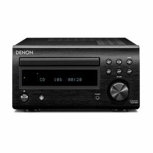 【納期約1~2週間】RCD-M41-K【送料無料】[DENON デノン] Bluetooth対応CDレシーバー ブラック RCDM41K