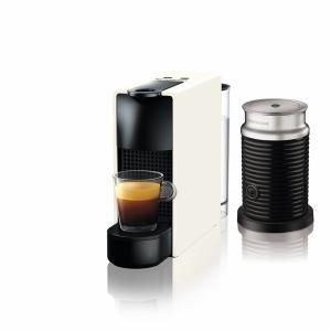 【納期約7~10日】ネスプレッソ C30WH-A3B 専用カプセル式コーヒーメーカー 「エッセンサ・ミニ」 バンドルセット ピュアホワイトC30WHA3B