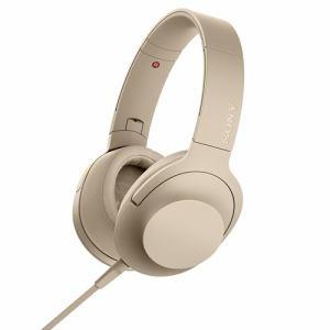 【納期約7~10日】SONY ソニー MDR-H600A-N 【ハイレゾ音源対応】 ヘッドホン 「SONY hear on 2」 (ペールゴールド) MDRH600ANC