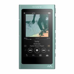 【納期約3週間】SONY ソニー NW-A45-G 【ハイレゾ音源対応】 ウォークマン Aシリーズ[メモリータイプ] 16GB ホライズングリーン NWA45GM
