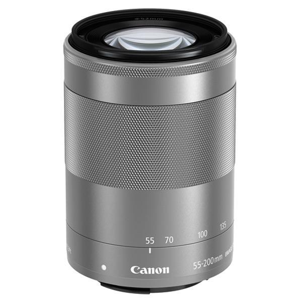 【納期約3週間】【お一人様1台限り】【送料無料】[CANON キヤノン] 交換用レンズ EF-M55-200mm F4.5-6.3 IS STM シルバー