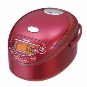 【納期約7~10日】RC-6XKL(R) TOSHIBA 東芝 IHジャー炊飯器 3.5合炊き グランレッド RC6XKLR