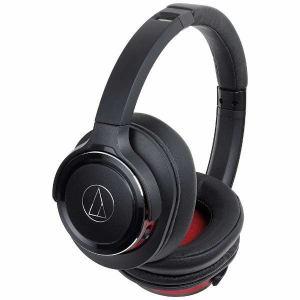 【納期約1~2週間】audio-technica オーディオテクニカ ATH-WS660BT-BRD Bluetooth対応ワイヤレスヘッドホン ブラックレッド ATHWS660BTBRD BRD