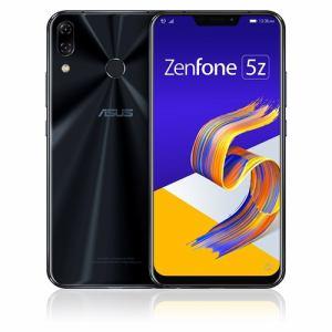 【納期約1~2週間】ZS620KL-BK128S6 [ASUS エイスース] SIMフリースマートフォン Zenfone 5Z 128GB シャイニーブラック ZS620KLBK128S6
