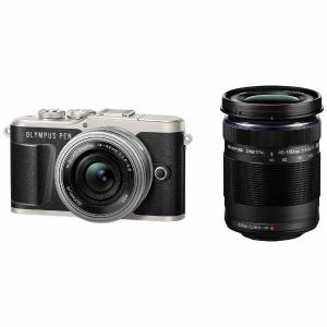 【納期約7~10日】【お一人様1台限り】【代引き不可】EPL9-WKIT-BLK Olympus オリンパス デジタル一眼カメラ「OLYMPUS PEN E-PL9」EZダブルズームキット ブラック EPL9WKITBLK