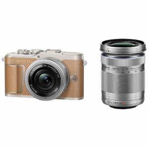 【納期約1~2週間】【お一人様1台限り】【代引き不可】EPL9-WKIT-BRW Olympus オリンパス デジタル一眼カメラ「OLYMPUS PEN E-PL9」EZダブルズームキット ブラウン EPL9WKITBRW