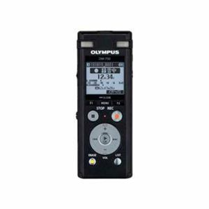 【納期約1~2週間】olympus オリンパス DM-750-BLK 2マイクノイズキャンセル搭載ICレコーダー 「Voice‐Trek」 4GB ブラック DM750BLK