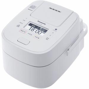 【納期約3週間】SR-VSX108-W Panasonic パナソニック 可変圧力スチームIH炊飯ジャー 「Wおどり炊き」(5.5合) ホワイト SRVSX108W