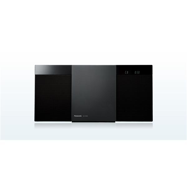 【納期約2週間】SC-HC300-K [Panasonic パナソニック] Bluetooth対応 コンパクトステレオシステム ブラック SCHC300K