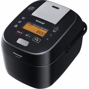 【納期約2週間】SR-SPA108-K [Panasonic パナソニック] 可変圧力スチームIH炊飯ジャー 「Wおどり炊き」(5.5合) ブラック SRSPA108K