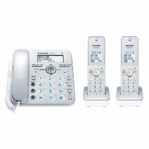 【納期約3週間】パナソニック VE-GZ31DW-S コードレス電話機(子機2台付き) シルバー VEGZ31DW-S