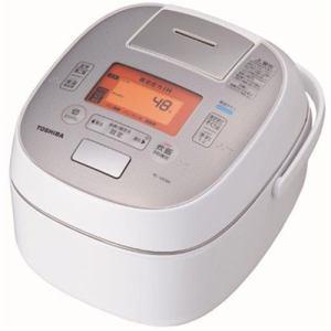 【納期約7~10日】RC-10VSM-W TOSHIBA 東芝 真空圧力IH炊飯器 「鍛造かまど銅釜」 5.5合炊き グランホワイト RC10VSMW