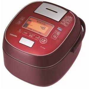 【納期約7~10日】RC-10VSM-RS TOSHIBA 東芝 真空圧力IH炊飯器 「鍛造かまど銅釜」 5.5合炊き ディープレッド RC10VSMRS