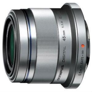 【お一人様1台限り】【納期約1~2週間】Olympus オリンパス 交換レンズ M.ZUIKO DIGITAL 45mm F1.8 (マイクロフォーサーズマウント) シルバー