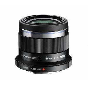 【納期約7~10日】【お一人様1台限り】Olympus 交換レンズ EZM45/F1.8BLK EZM45/F1.8BLK