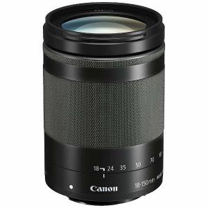 【納期約3週間】【お一人様1台限り】canon キヤノン EFM18-150ISSTM 交換用レンズ EF-M18-150mm F3.5-6.3 IS STM グラファイト