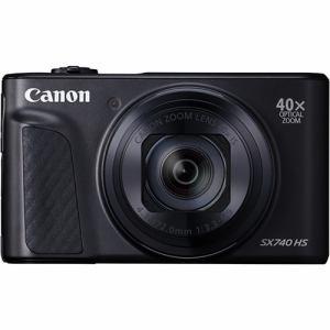 【納期約1~2週間】【お一人様1台限り】canon キヤノン PowerShot SX740 HS ブラック コンパクトデジタルカメラ PSSX740HSBK