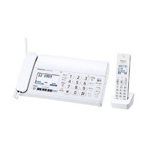 【納期約1ヶ月以上】Panasonic パナソニック KX-PZ210DL-W デジタルコードレス普通紙FAX(子機1台付き) ホワイト おたっくす KXPZ210DLW