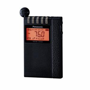 ★★【納期約3週間】Panasonic パナソニック RF-ND380R-K ワイドFM/AM 2バンドラジオ RFND380R K