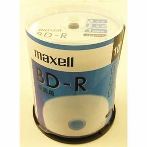 男女兼用 ディスカウント 納期約1~2週間 マクセル 録画用ブルーレイディスク100枚スピンドルパック BRV25SIWP100SP