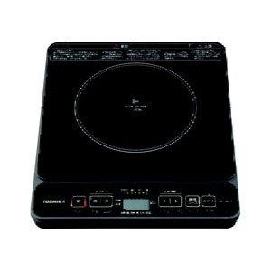 【納期約7~10日】TOSHIBA 東芝 MR-S20M-K 卓上型IH調理器 (1口) MRS20MK ブラック