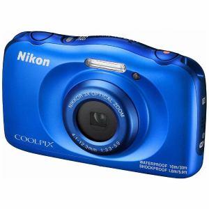 【納期約4週間】Nikon ニコン W100BL コンパクトデジタルカメラ COOLPIX ブルー
