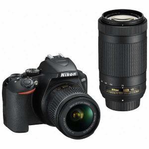 【納期約1~2週間】【お一人様1台限り】Nikon ニコン D3500-W70300KIT デジタル一眼レフカメラ ダブルズームキット D3500W70300KIT