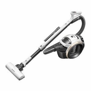 【納期約7~10日】SHARP シャープ EC-MS21T-W キャニスター型 サイクロン式掃除機 ホワイト系 ECMS21T