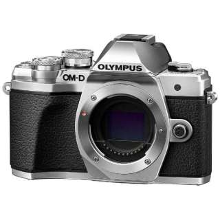 【納期約7~10日】【お一人様1台限り】Olympus OM-D E-M10 Mark III ボディ(レンズ別売)シルバー ミラーレス一眼カメラ