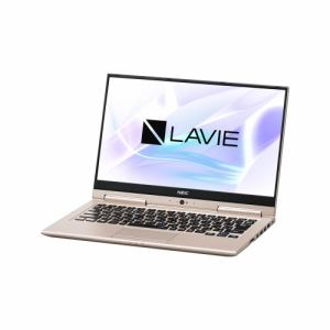 【納期約1~2週間】NEC PC-HZ750LAG ノートパソコン LAVIE Hybrid ZERO  フレアゴールド PCHZ750LAG