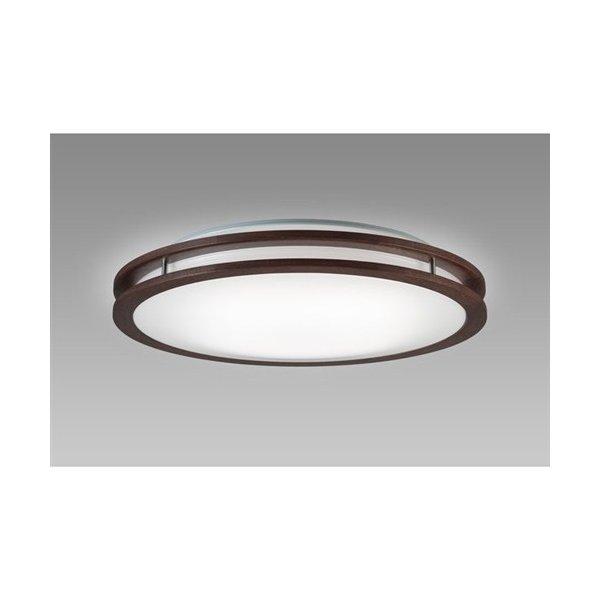 【納期約7~10日】NECライティング HLDC08214 LEDシーリング 8畳 調色 アーバンオーク