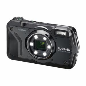 【納期約1~2週間】RICOH リコー WG-6 コンパクトデジタルカメラ ブラック WG6 BK