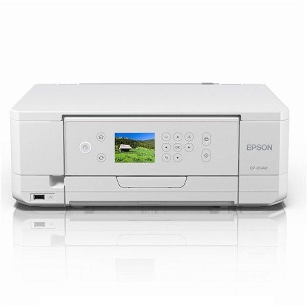 【納期約1~2週間】EPSON エプソン EP-811AW A4プリント対応 インクジェット複合機(ホワイト) カラリオ EP811AW