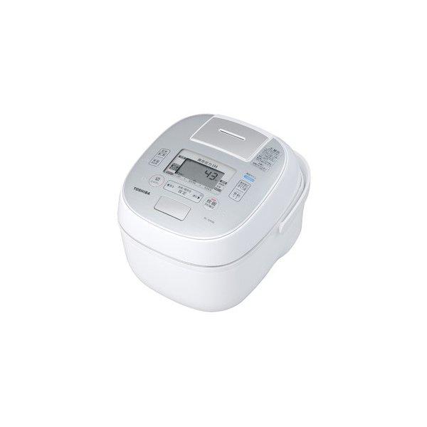 【納期約7~10日】TOSHIBA 東芝 RC-10VSN-W 真空圧力IHジャー炊飯器(5.5合炊き) グランホワイト 合わせ炊き RC10VSNW