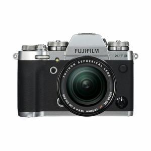 ★★【納期約2週間】FUJIFILM 富士フイルム FX-T3LK-S ミラーレス一眼カメラ 「FUJIFILM X-T3」 レンズキット シルバー
