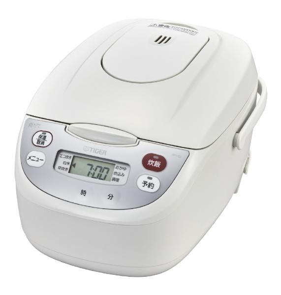 【納期約1~2週間】TIGER タイガー JBH-G182W マイコン炊飯ジャー 1升炊き ホワイト 炊きたて JBHG182W