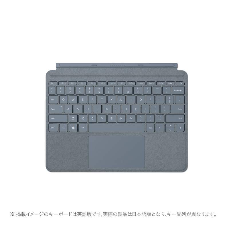 【納期約2週間】【お一人様1台限り】Microsoft マイクロソフト KCS-00123 Surface Go Signature タイプ カバー アイスブルー アイスブルー KCS00123