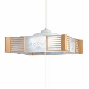 【納期約2週間】サンコー HCDD1260 LEDペンダントライト 和風 調光タイプ 昼光色 ~12畳 HCDD1260