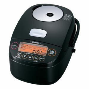 【納期約7~10日】ZOJIRUSHI 象印 NP-BK10-BA 圧力IH炊飯ジャー 5.5合炊き ブラック NPBK10BA