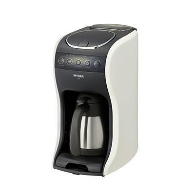 【納期約7~10日】ACT-E040WM TIGER タイガー コーヒーメーカー クリームホワイト 真空ステンレスサーバー ACTE040WM