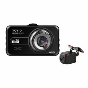 納期約2週間 ナガオカ MDVR301FHDREAR 在庫処分 新作入荷!! 前後2カメラ ドライブレコーダー movio