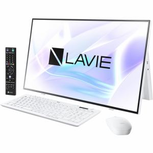 人気定番の 【納期約1ヶ月以上】★★NEC PC-A2797BAW デスクトップパソコン LAVIE A27 ファインホワイト PCA2797BAW, とっぷりさいくるモール 97879919