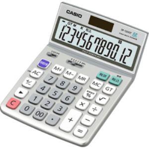 CASIO カシオ / DF-120GT-N 特大表示電卓 12桁 マルチ換算タイプ DF120GTN 【納期約7~10日】DF-120GT-N [CASIO カシオ] 特大表示電卓 12桁 マルチ換算タイプ DF120GTN