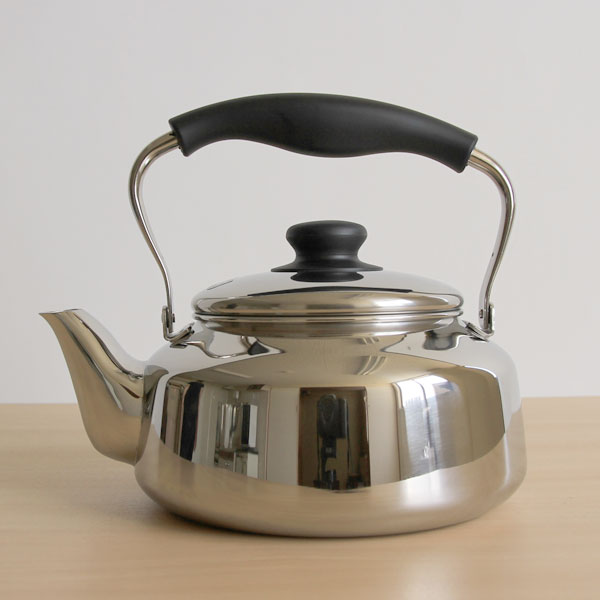 Sori Yanagi ( Souri yanagi ) stainless steel Kettle mirror 2.5 L Stainless kettle matt 2.5 L