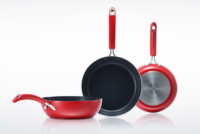 MEYER (Meyer) Italian Red IH for frying pan 28 cm FRYING PAN MIR-P28