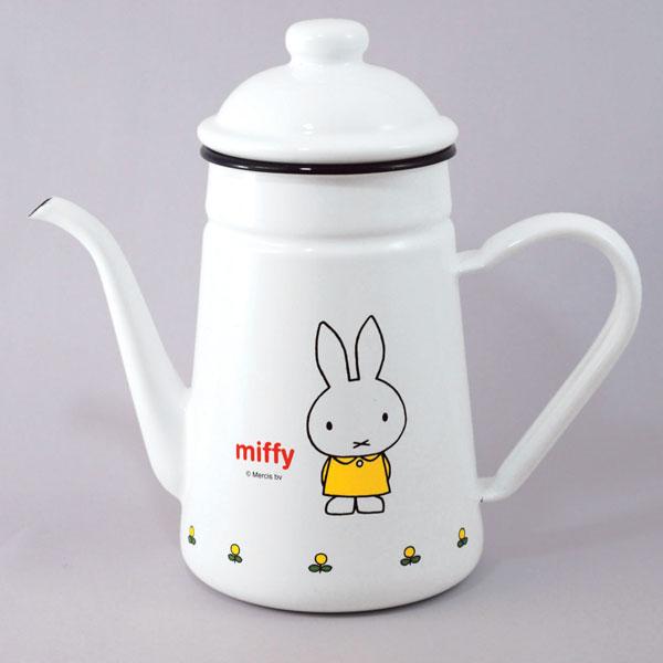 후지 법랑 miffy(미피) 드립폿트 11 cm(1.0 L) MF-11 DP