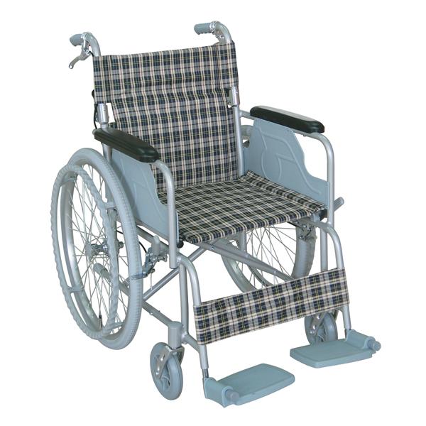 幸和製作所 TacaoF(テイコブ)ハンドブレーキ付きアルミ車イス自走式車いす