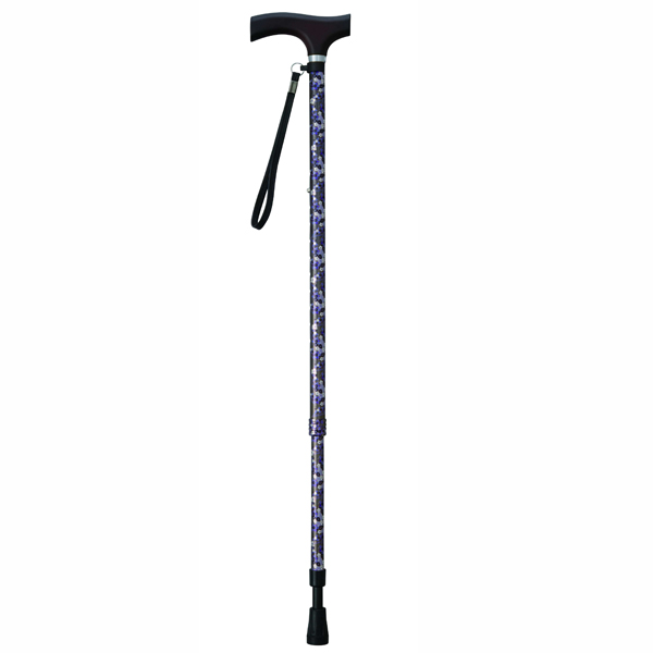 幸和製作所 TacaoF(テイコブ)テイコブ伸縮クッションステッキES11 コバナグリーン 伸縮杖