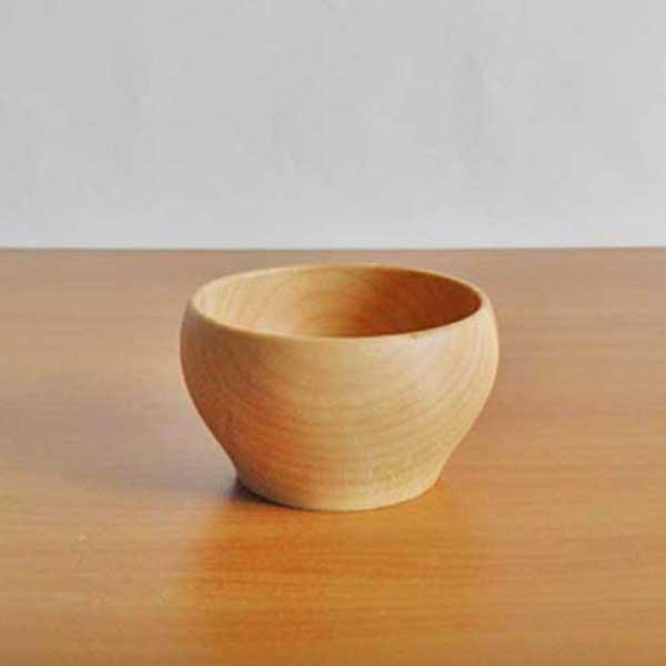 シンプルな木製食器 籐芸 特売 木のお椀 メープル 日本全国 送料無料 Sサイズ